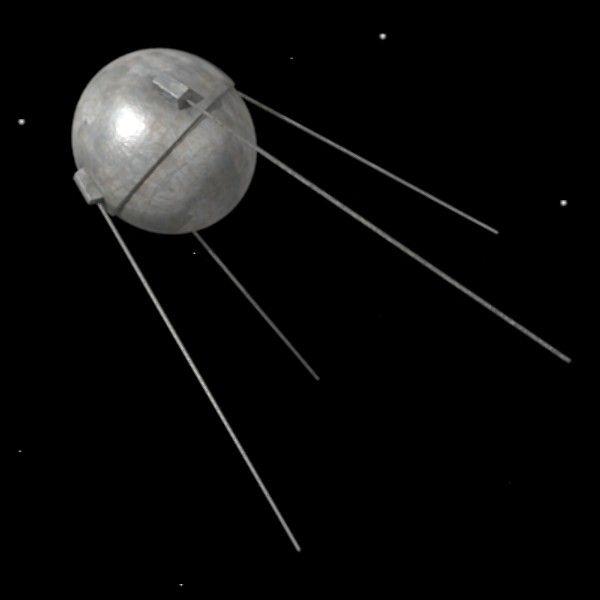 """İlk Uydu Rus Yapımı """"Sputnik"""""""